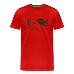 Eye-Love Chocolate - Men's Premium T-Shirt