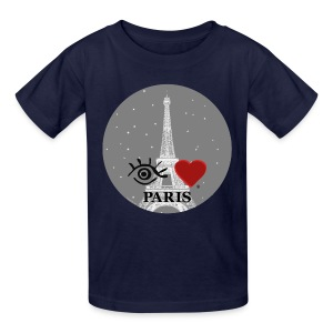 Eye-Love Paris - Kids' T-Shirt
