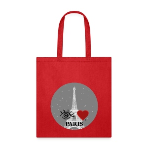 Eye-Love Paris - Tote Bag