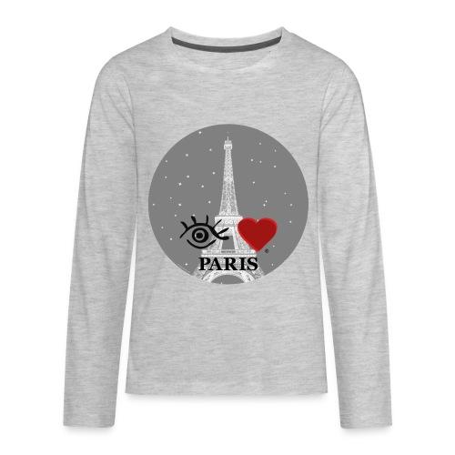 Eye-Love Paris - Kids' Premium Long Sleeve T-Shirt