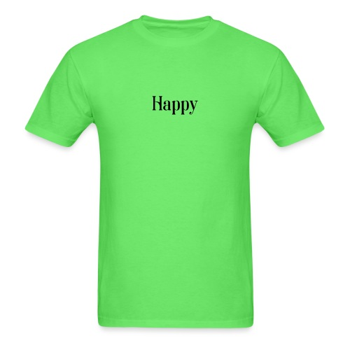 Happy Men's Tee - Men's T-Shirt