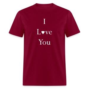 Men's I love You Lgh ink Tee - Men's T-Shirt