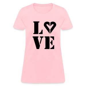 Woman's Love dRK  Ink Classic Tee - Women's T-Shirt