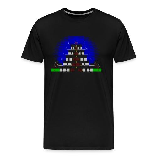 China house ascii shirt - Men's Premium T-Shirt