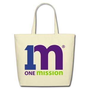 One Mission Tote Bag *Other Colors Available* - Eco-Friendly Cotton Tote