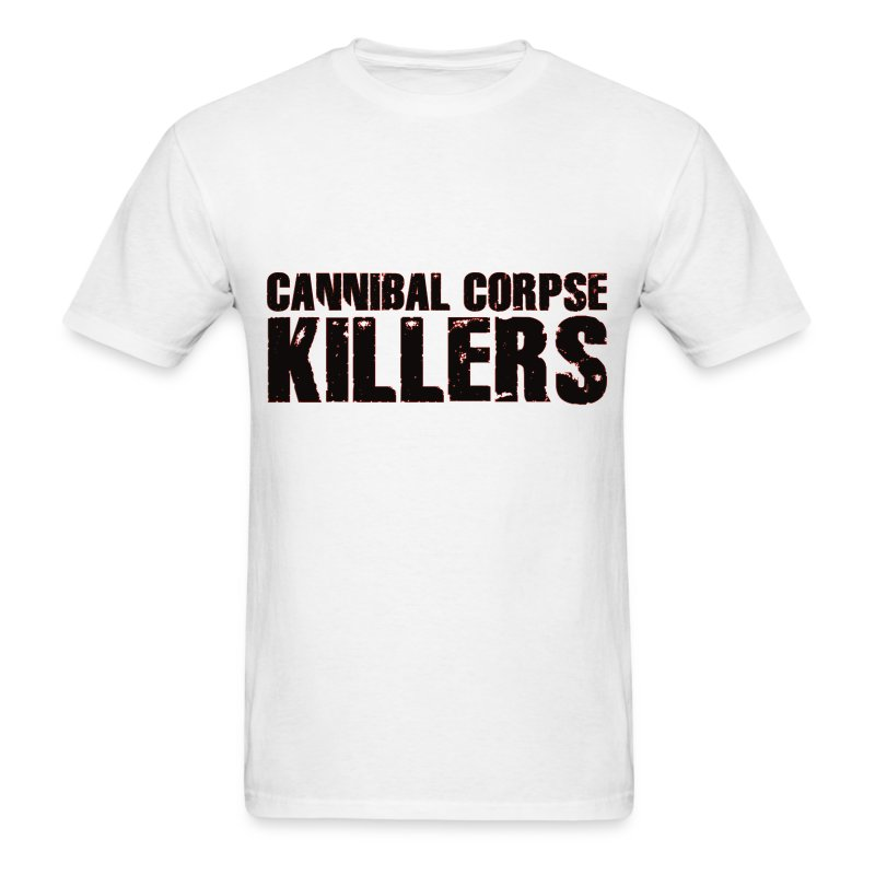 CANNIBAL CORPSE KILLERS Text Tee - Men's T-Shirt