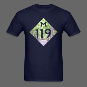 M-119 Tunnel of Trees  - Men's T-Shirt
