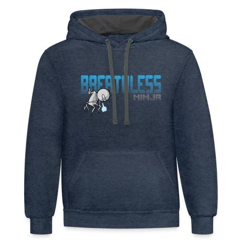 Breathless Ninja Hoodie - Horizontal - Contrast Hoodie