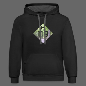 M-119 Tunnel of Trees  - Contrast Hoodie