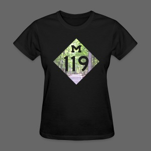 M-119 Tunnel of Trees  - Women's T-Shirt