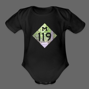 M-119 Tunnel of Trees  - Short Sleeve Baby Bodysuit