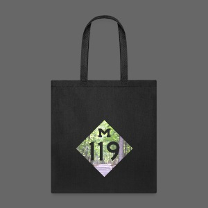 M-119 Tunnel of Trees  - Tote Bag