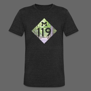 M-119 Tunnel of Trees  - Unisex Tri-Blend T-Shirt by American Apparel