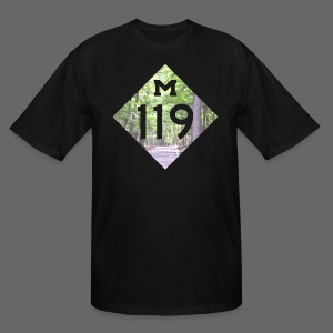M-119 Tunnel of Trees  - Men's Tall T-Shirt