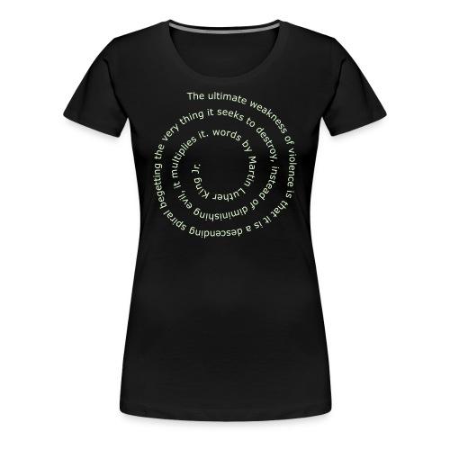 Violence Spiral - Women's Premium T-Shirt