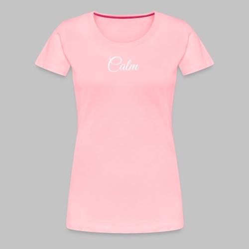 Calm Women's Tee (Pink) - Women's Premium T-Shirt