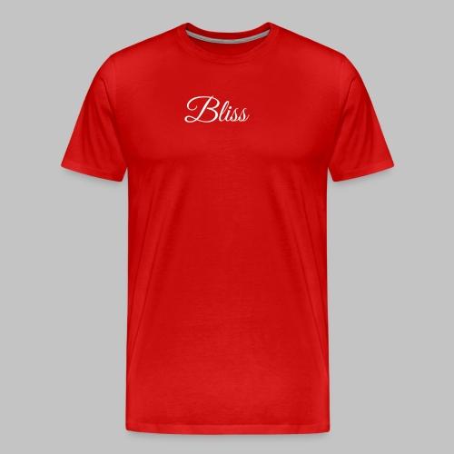 Bliss Men's Tee (Red) - Men's Premium T-Shirt