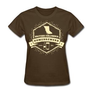British Columbia Homebrewers - Women's T-Shirt