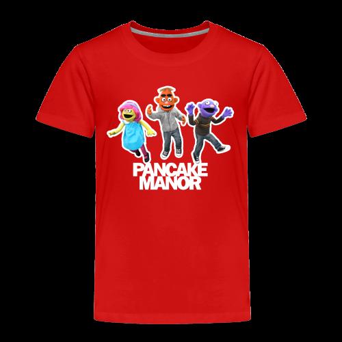 TODDLER : Pancake Manor Jump - Toddler Premium T-Shirt