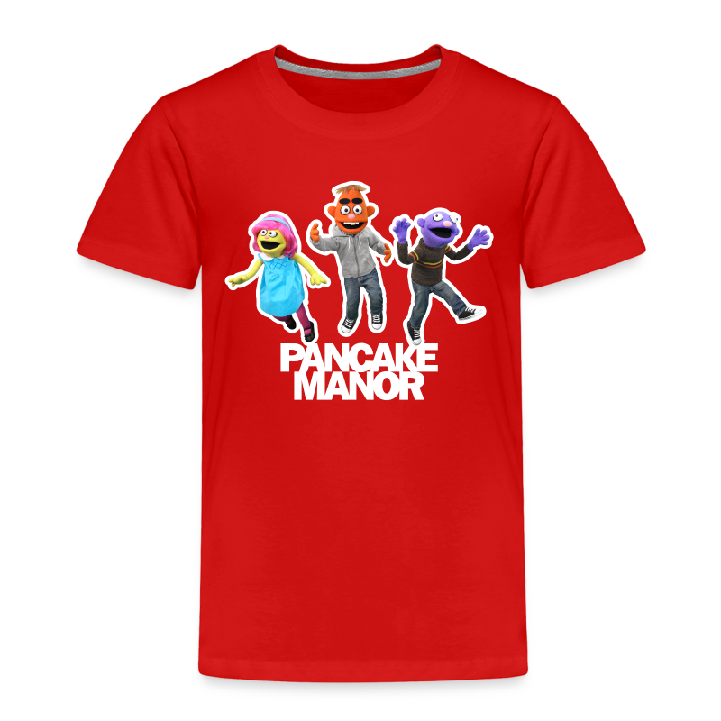 TODDLER : Pancake Manor Jump - Toddler Premium T-Shirt
