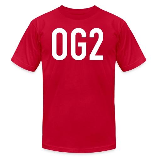 Men's T Shirt by American Apparel : red - Men's Fine Jersey T-Shirt
