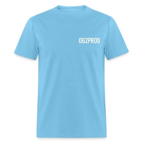 Men's T Shirt : aquatic blue - Men's T-Shirt