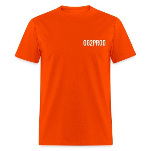 Men's T Shirt : orange - Men's T-Shirt