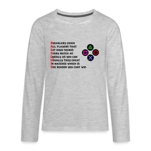 Winter Shirt - Kids' Premium Long Sleeve T-Shirt