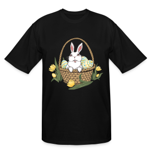 Easter T-shirts Tall Easter Bunny Shirts - Men's Tall T-Shirt