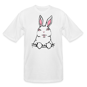 Bunny Rabbit T-shirts Tall Easter Bunny Shirts - Men's Tall T-Shirt