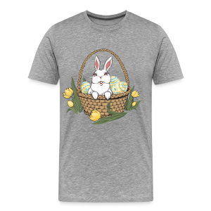 Man's Easter T-shirts Plus Size Easter Bunny Shirts - Men's Premium T-Shirt