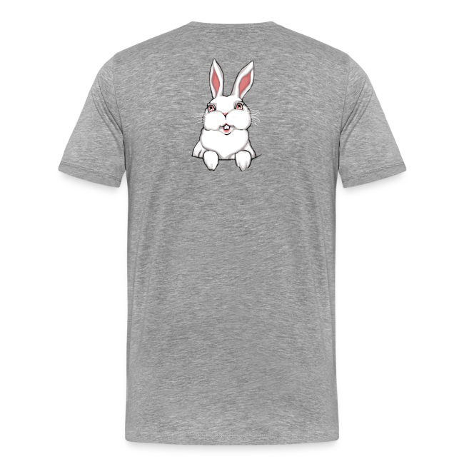 Man's Easter T-shirts Plus Size Easter Bunny Basket Shirts