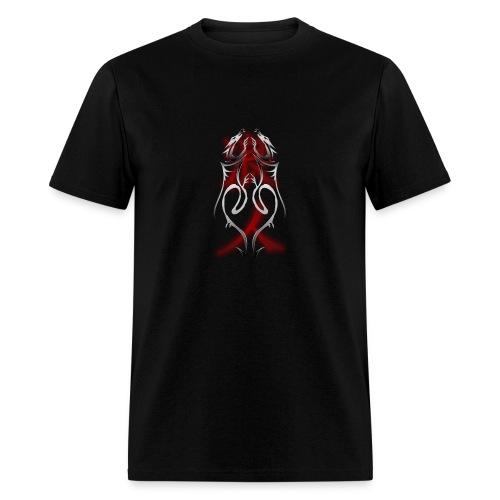 Dragons with RONIN Kanji - Men's T-Shirt