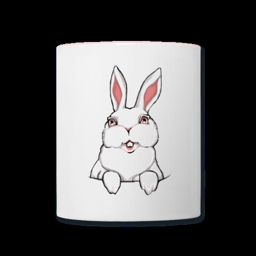 Easter Bunny Mug Easter Bunny Rabbit Cups - Contrast Coffee Mug