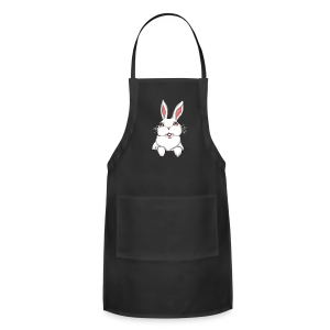 Easter Bunny Apon Easter Bunny Rabbit BBQ Aprons - Adjustable Apron
