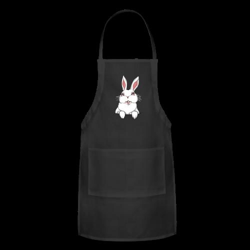 Easter Bunny Apron Easter Bunny Rabbit BBQ Aprons - Adjustable Apron