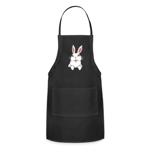 Easter Bunny Apron Easter Bunny Rabbit BBQ Aprons - Adjustable Apron