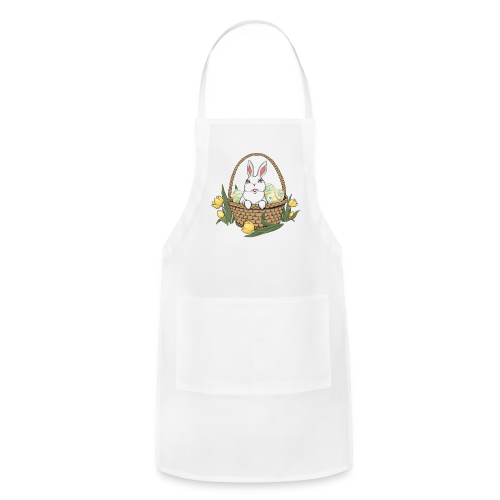 Easter Bunny Apron Easter Bunny Basket BBQ Aprons - Adjustable Apron
