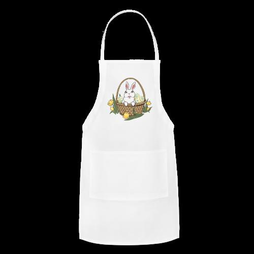 Easter Bunny Apron Easter Bunny Basket BBQ Aprons - Adjustable Apron