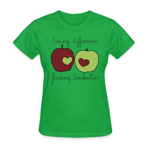 Similarities - Women's T-Shirt