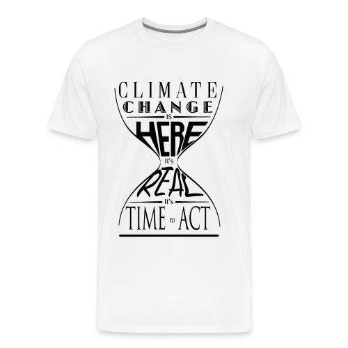 Climate Science Time To Act - Men's Shirt - Men's Premium T-Shirt