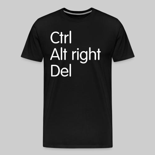 Control Alt right Delete - Men's Premium T-Shirt