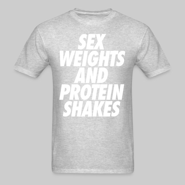 Sex weights and protein shakes