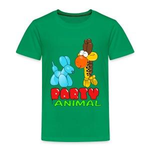 Party Animal Toddler - Toddler Premium T-Shirt