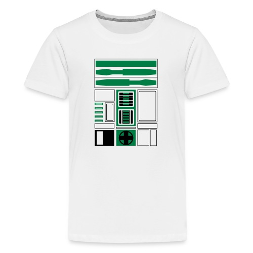 Boston Basketball Droid (Jr) - Kids' Premium T-Shirt
