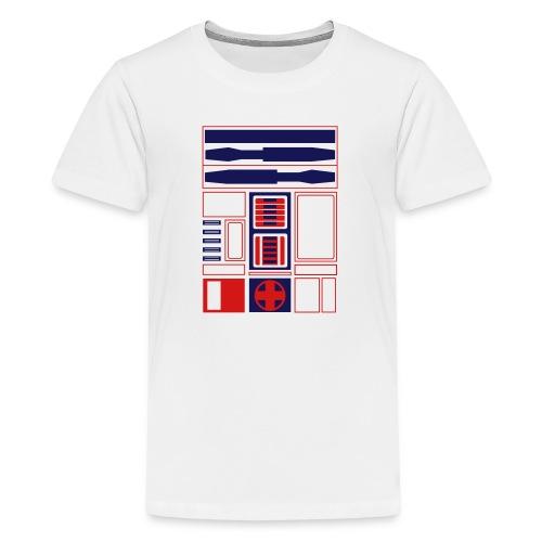 Atlanta Basketball Droid (Jr) - Kids' Premium T-Shirt
