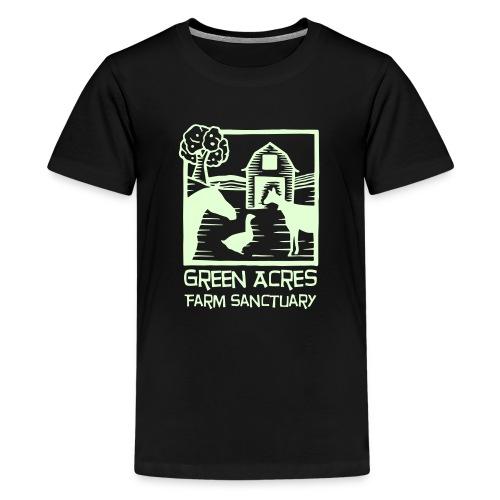 Kids Tee -- Glow in the Dark Logo - Kids' Premium T-Shirt