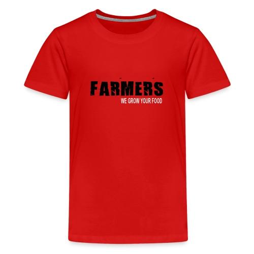 We grow your food Kids - Kids' Premium T-Shirt