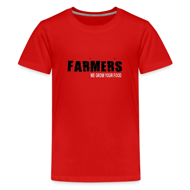 We grow your food Kids - Kids' Premium T-Shirt