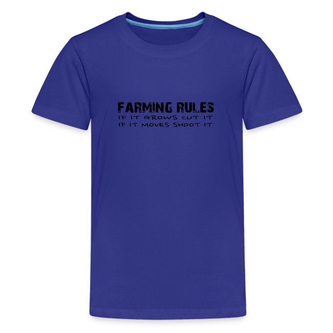 Farming Rules Kids
